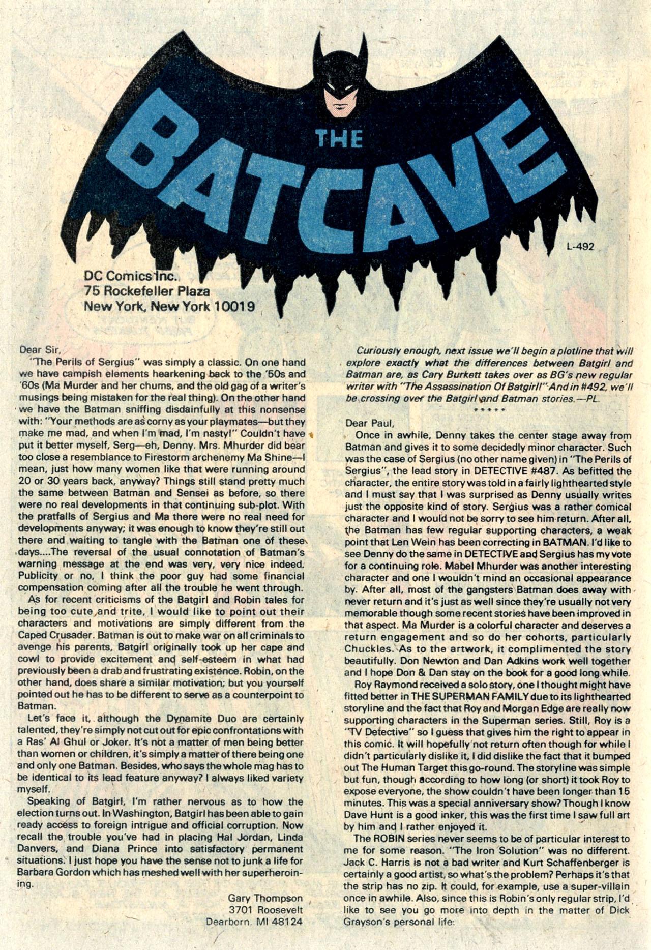 Detective Comics (1937) 490 Page 63