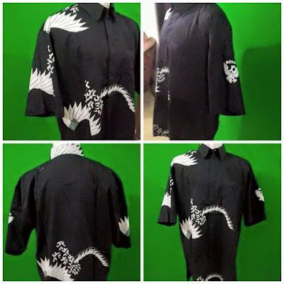 seragam batik tulis perpajakan kalinggo batik