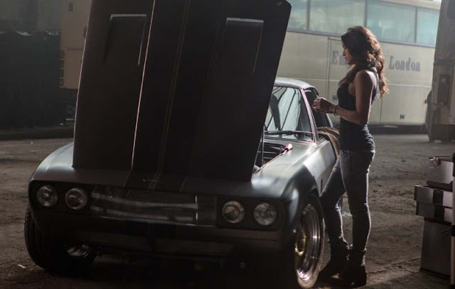 Alita: Battle Angel diam-diam ada pemain baru Michelle Rodriguez