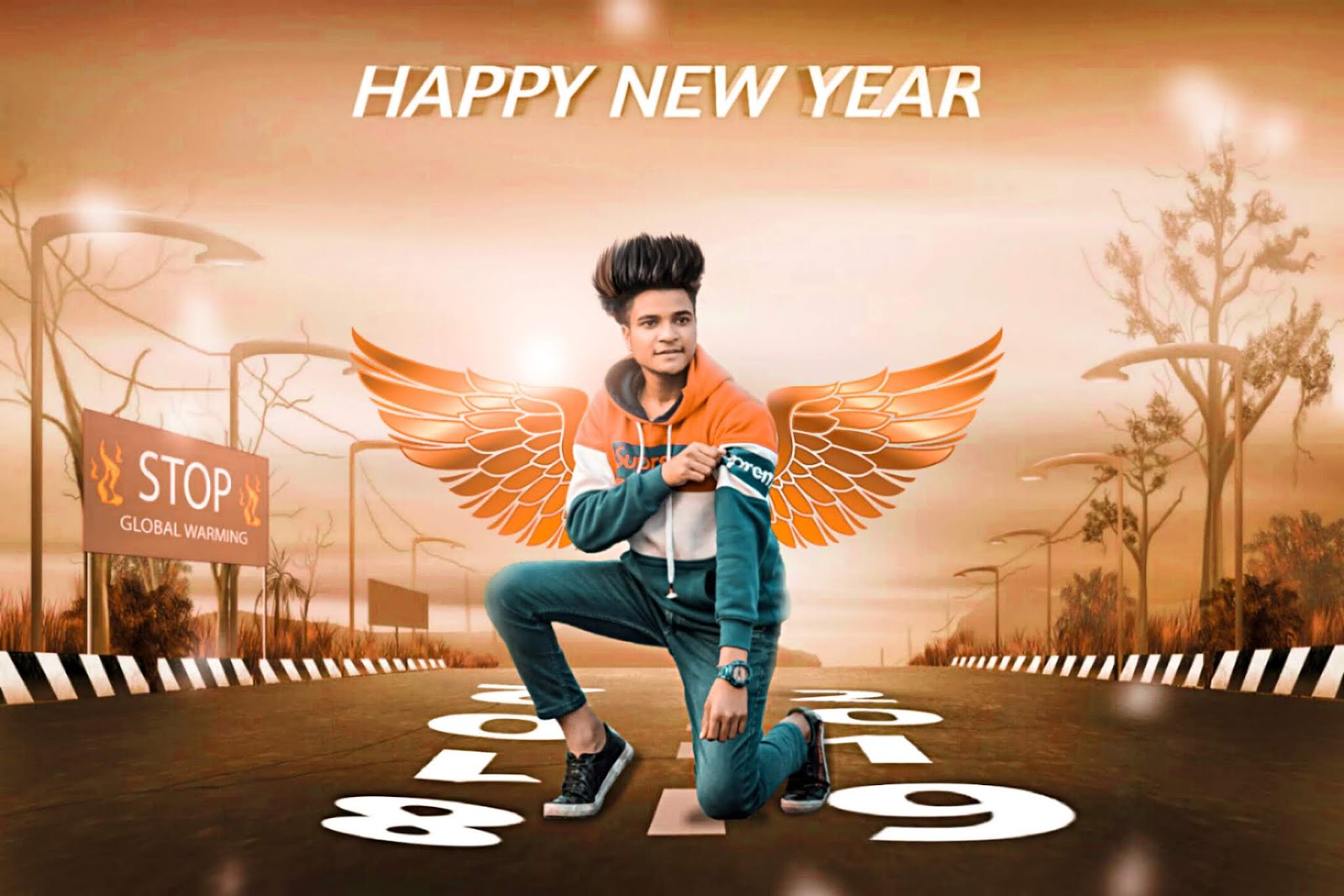 Picsart Happy New Year 2019 Background Hd Sca2016
