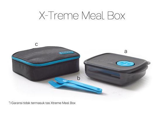 Tupperware X-Treme Meal Box