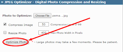 kompres foto gratis di jpeg-optimizer