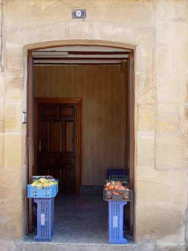 Puerta Decorada Invierno