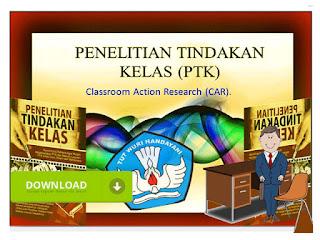 Contoh Penelitian Tindakan Kelas PTK Guru SD Lengkap