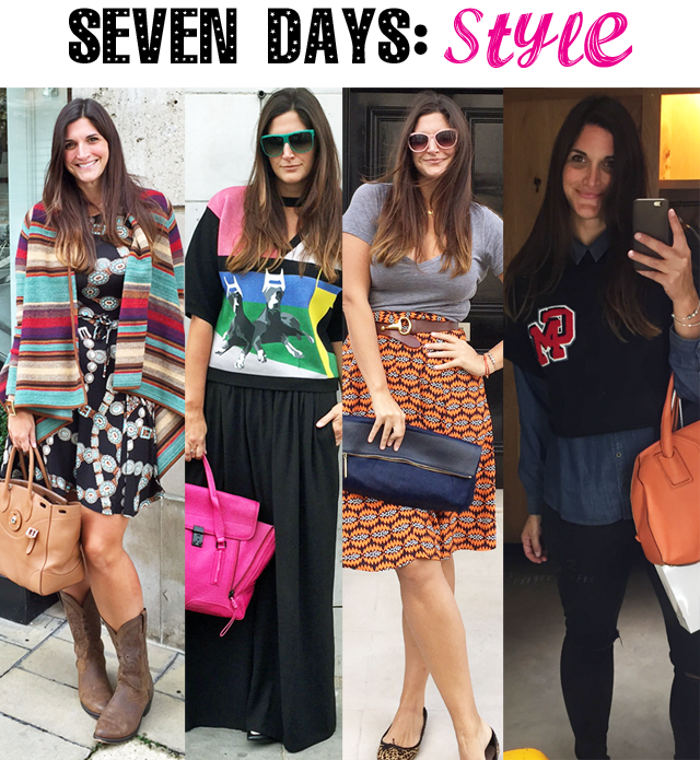 Seven days of style