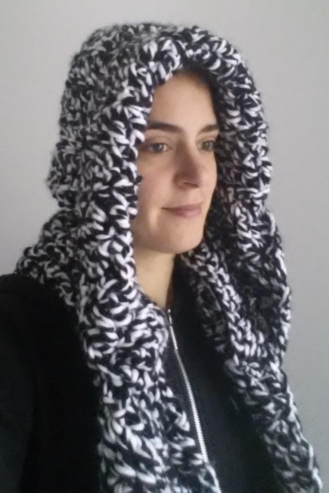 Marlindas Inspiration Sjaal Met Capuchon Hooded Scarf
