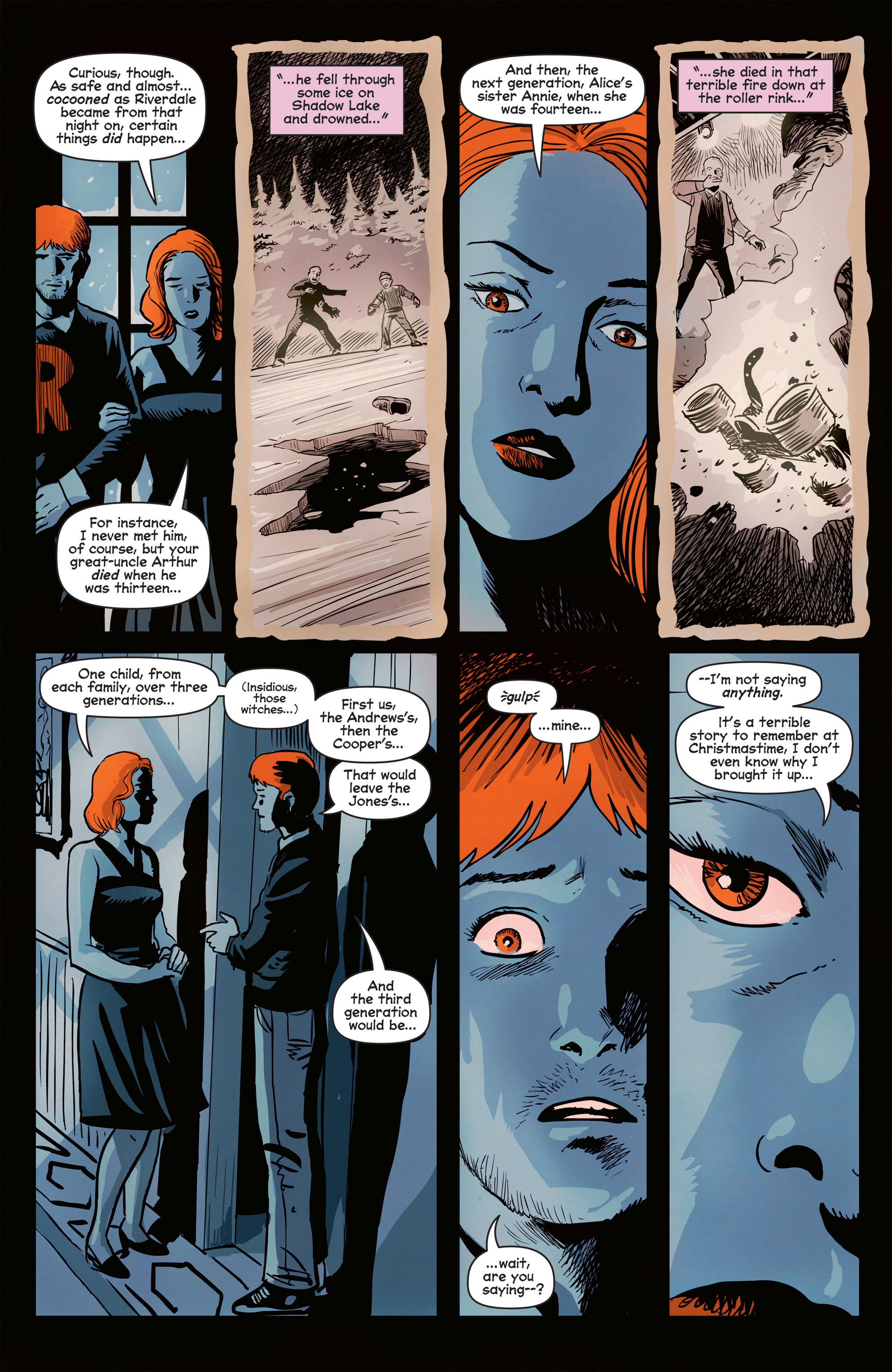 Read online Afterlife with Archie comic -  Issue #8 - 23
