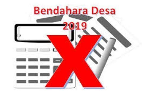 Tahun 2019, Tidak Ada Lagi Bendahara Desa