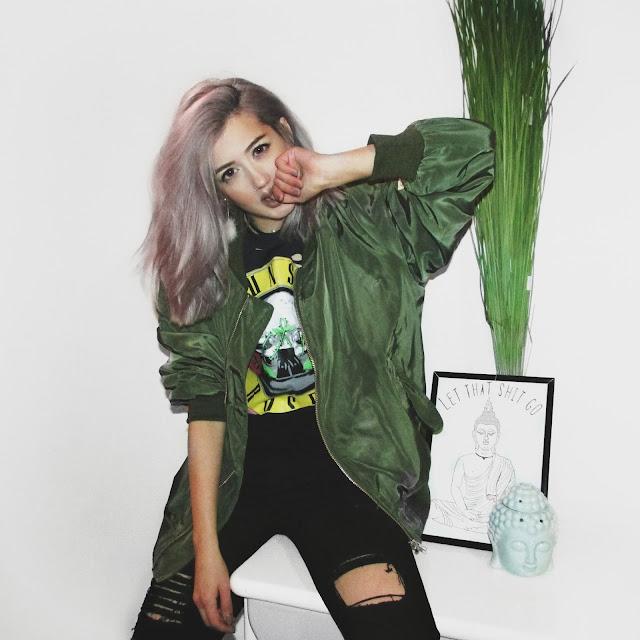 tumblr grunge girl