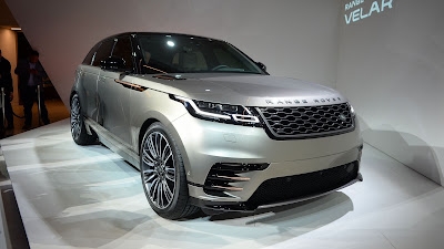 New 2018 Range Rover Velar SUV launching event
