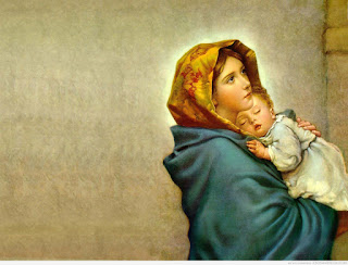 Beautiful Pictures of Mother Mary