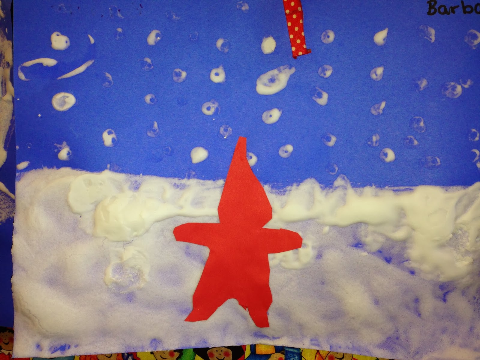 Time 4 Kindergarten The Snowy Day An Art Project