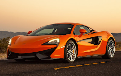 McLaren 570S Orange view image