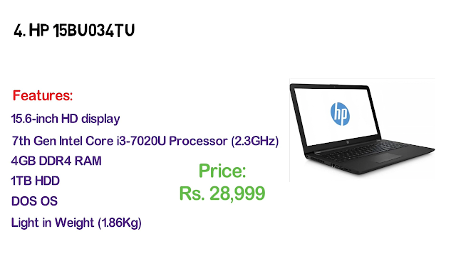 HP laptop prices