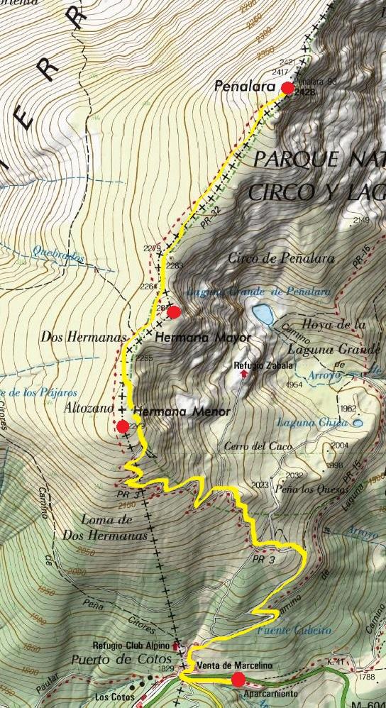 Pico Peñalara, iniciación montaña invernal