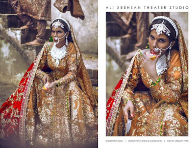 Summer bridal wear dresses by Ali Xeeshan for women