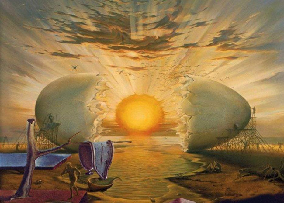 Les toiles d 39 artlubie oeufs de p ques for Art du monde