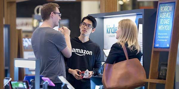 Amazon Is Expanding Its Retail Operation To 100 Pop-Up Stores Around The US