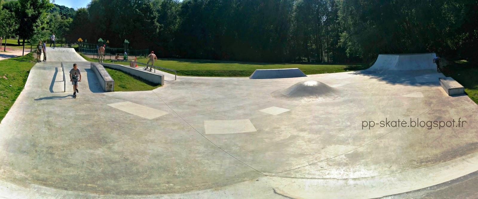 Skatepark Saint-Cheron panoramique
