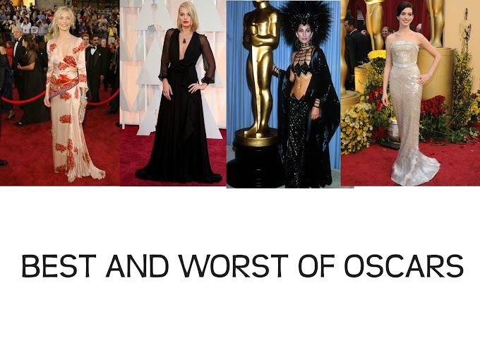 Best and Worst Dressed : Oscars