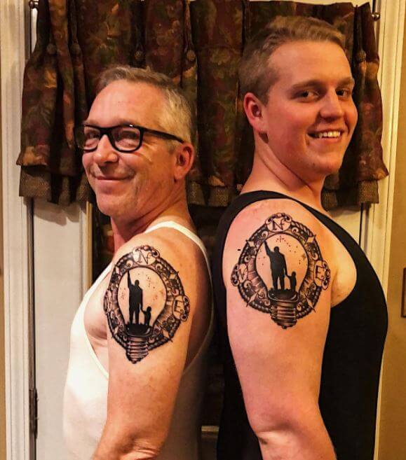 150+ Cool Father Son Tattoos Ideas (2019) Symbols, Quotes ...