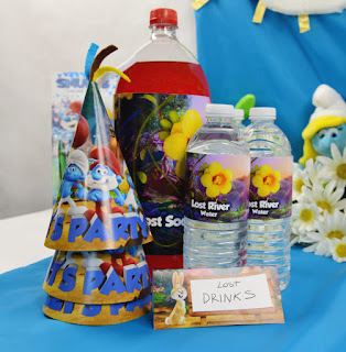 Smurfs: The Lost Village birthday party printables