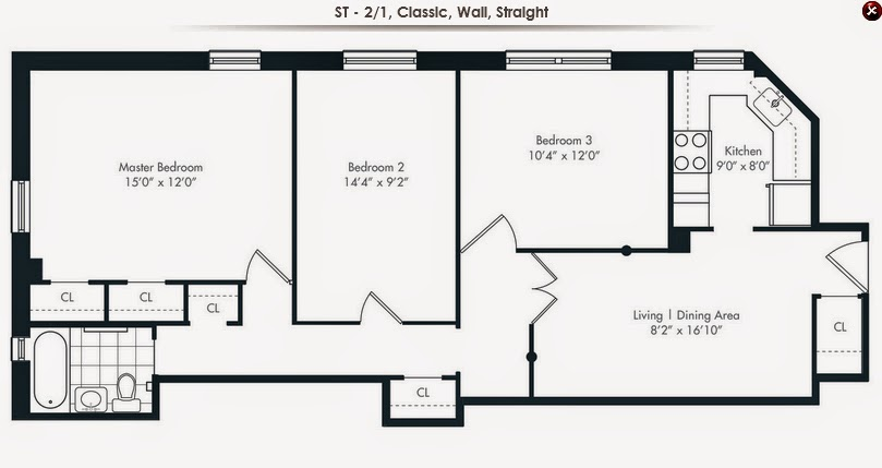 The Stuyvesant Town Report TA Please Take Notice Can We Ever Get – Stuy Town 2 Bedroom Floor Plan