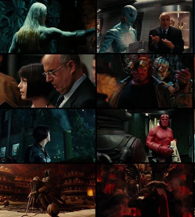 Hellboy 2 The Golden Army 2008 Dual Audio Hindi 720p BluRay