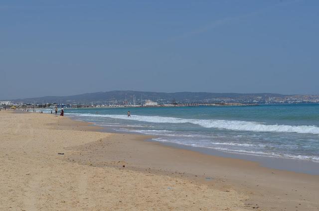 a cidade dos Resorts no Litoral da Tunísia