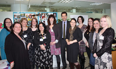 , The day I got to meet an important Minister- Edward Timpson, Minister for SEN & Disabilities