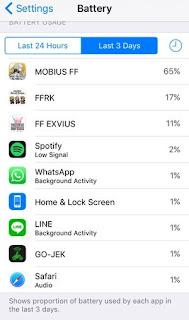 Cara Paling Ampuh Menghemat Baterai Iphone IOS 10