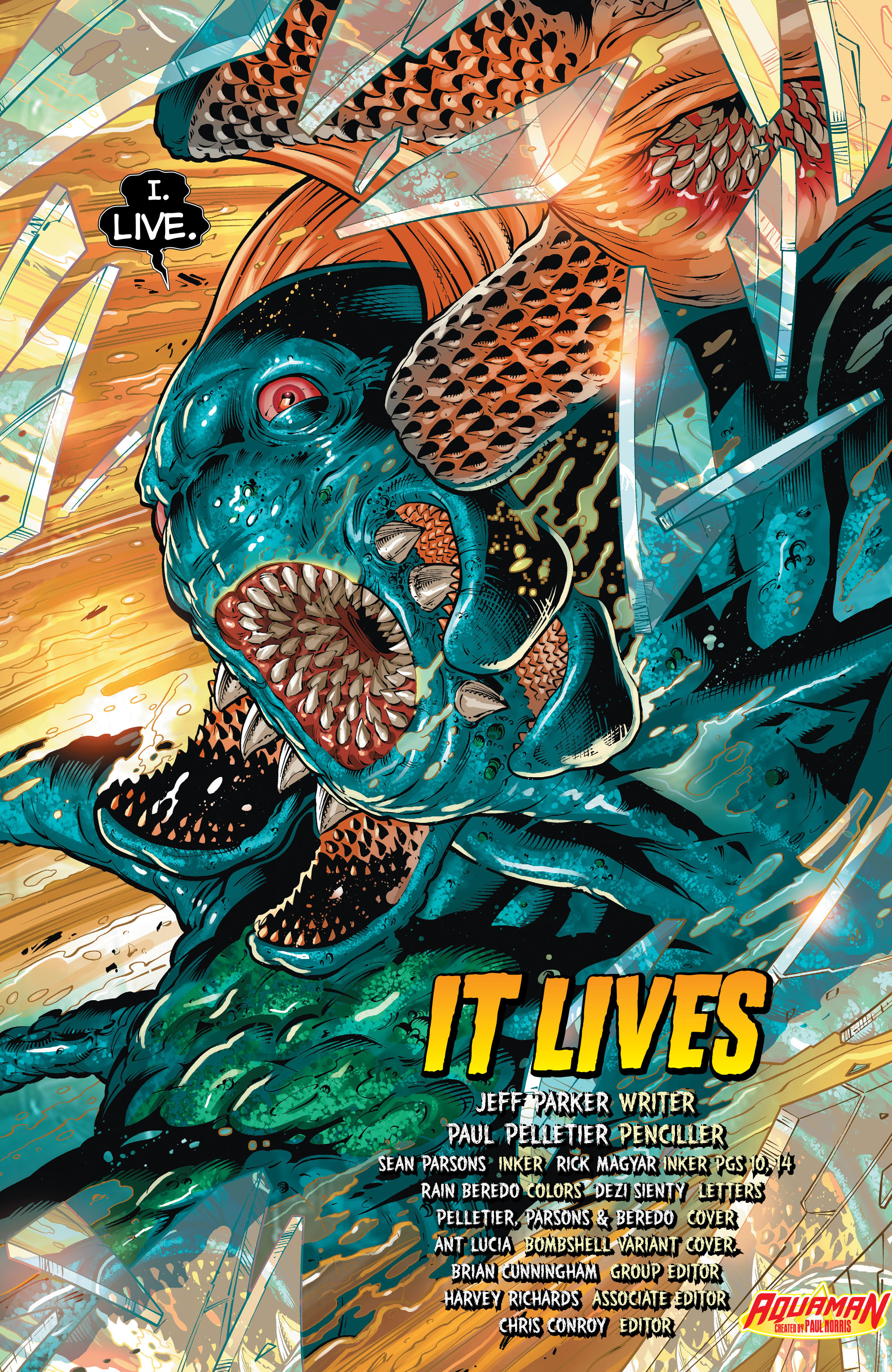 Read online Aquaman (2011) comic -  Issue #32 - 6