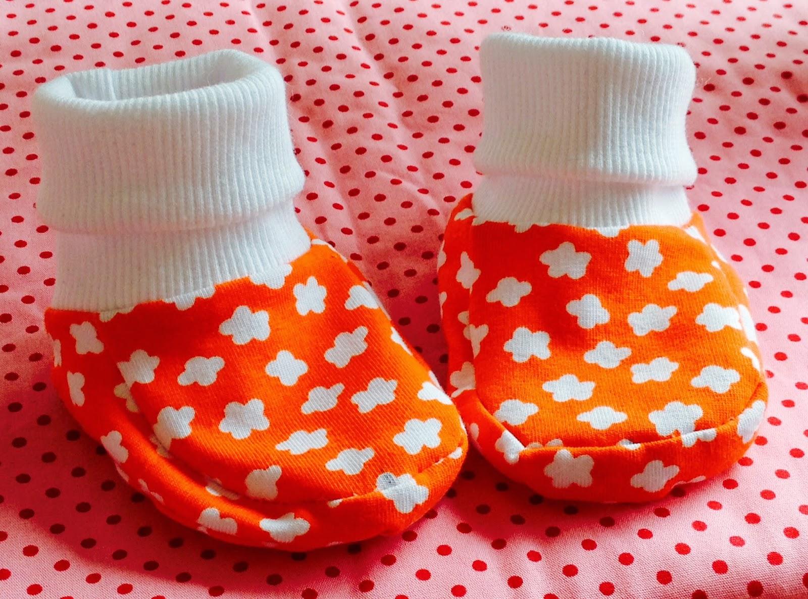 MargaretesHandmadeBox: Babyschuhe selber machen