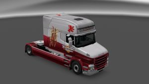 Knight Skin for Scania T