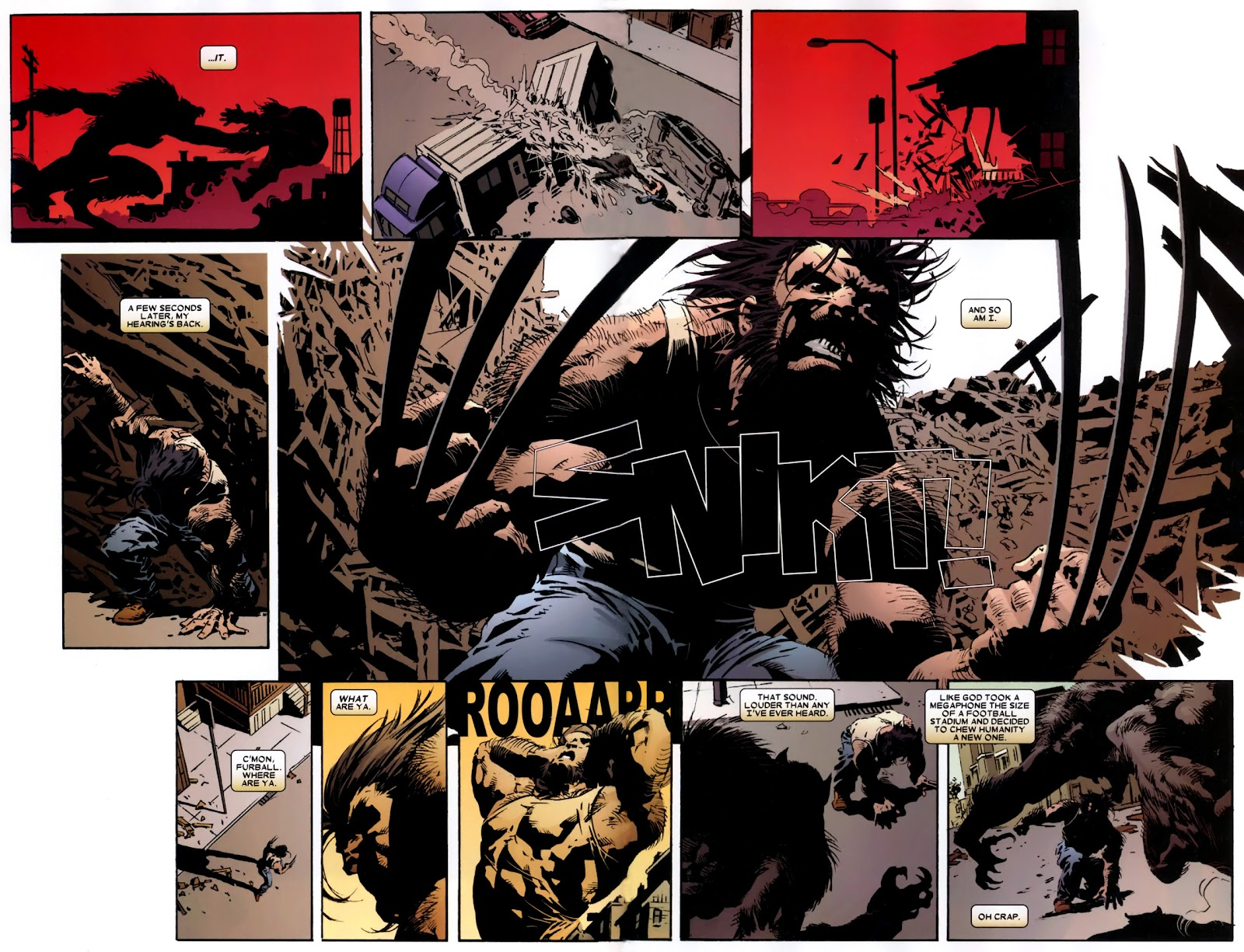 Read online Wolverine (2003) comic -  Issue # Annual 2 - 8
