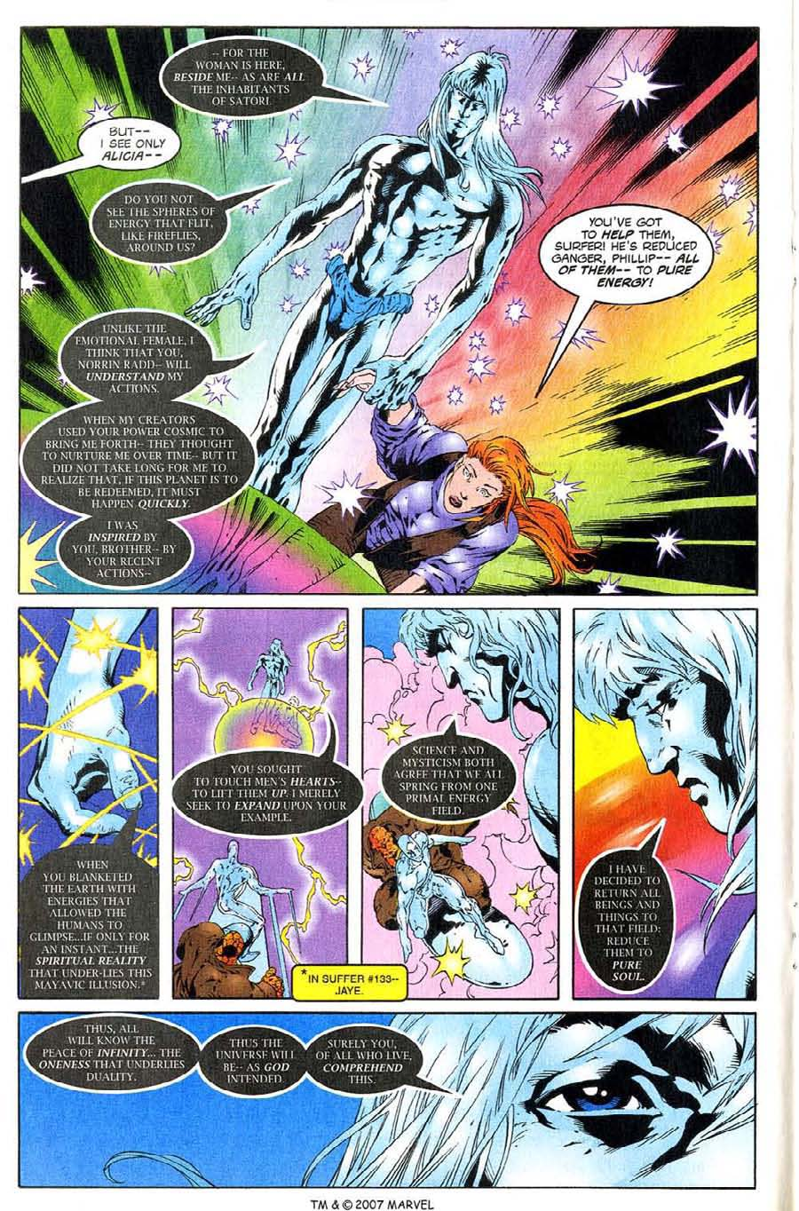 Read online Silver Surfer (1987) comic -  Issue #138 - 18