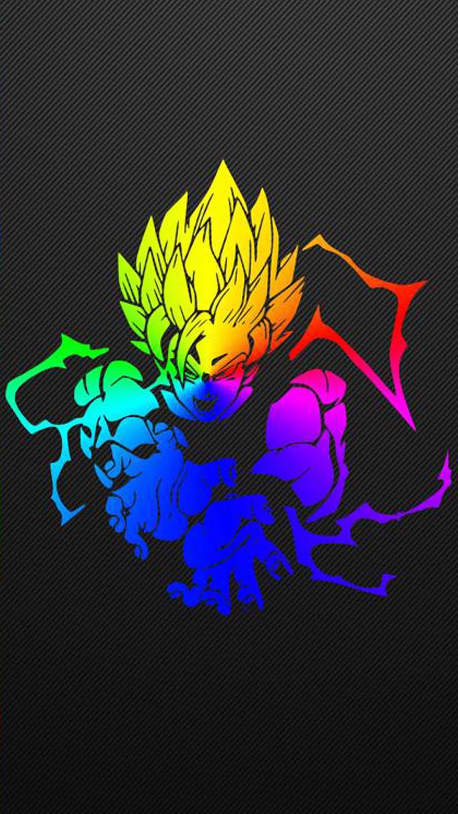 Colorfull Son Goku Super Dragon Ball Z Wallpaper Hd