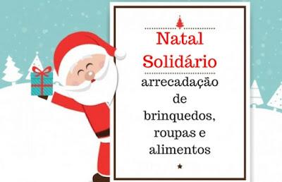 Campanha Natal Solidário chega à sua 7ª edição