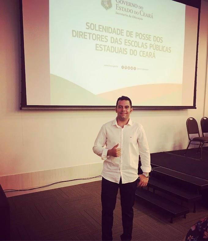 Prof. Paulo Robson é empossado como Diretor da EEM Santa Tereza