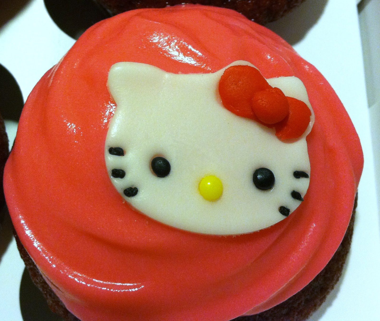 Maries Manor Hello Kitty: Growing Myself Back: Hello Kitty Cup Cakes
