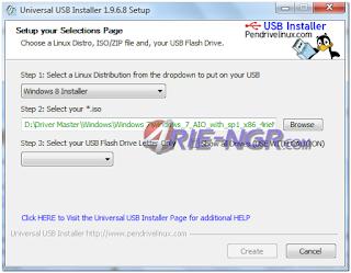 Universal USB Installer 1.9.6.8 Final Terbaru Gratis