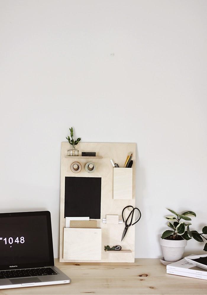 diy-organizador-ecritorio-madera-pintura-pizarra