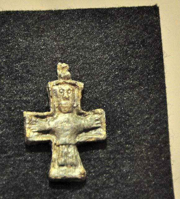 Wielkomorawski krzyżyk w Moravské Zemské Muzeum