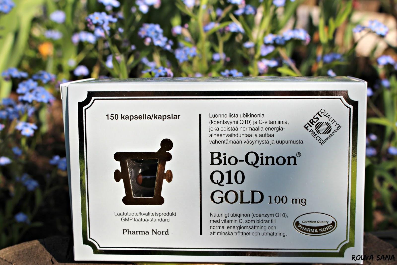 Pharma Nord, Migreeni, Bio-Qinon Q10, Rouva Sana, ubikinoni