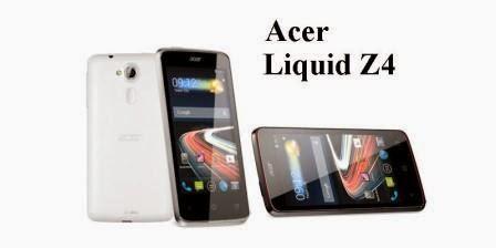 Harga Acer Liquid Z4 baru, Harga Acer Liquid Z4 bekas, Spesifikasi Acer Liquid Z4
