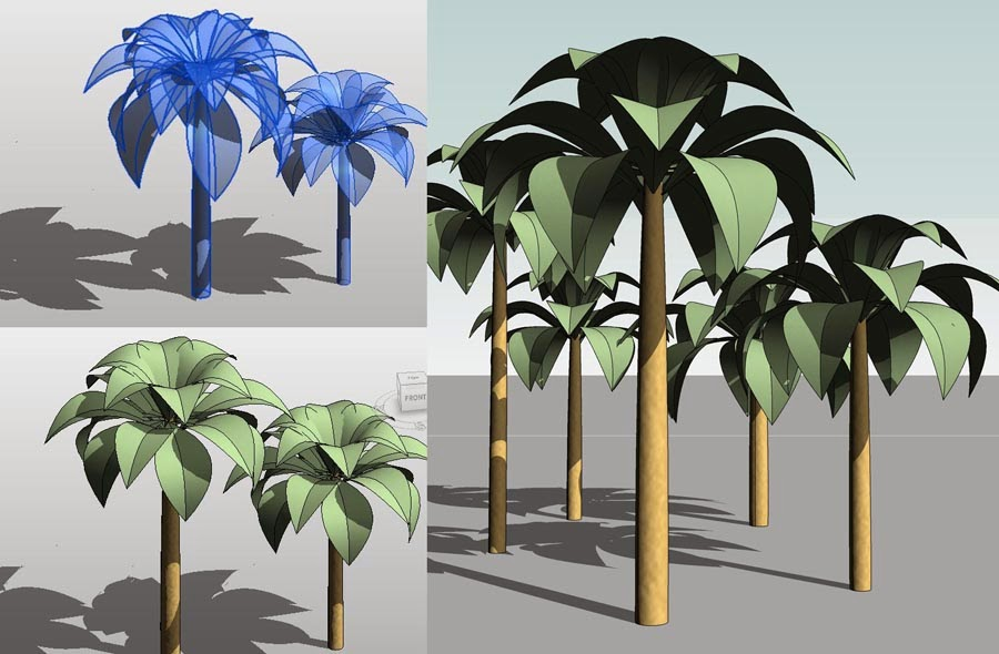 Revit Oak Tree