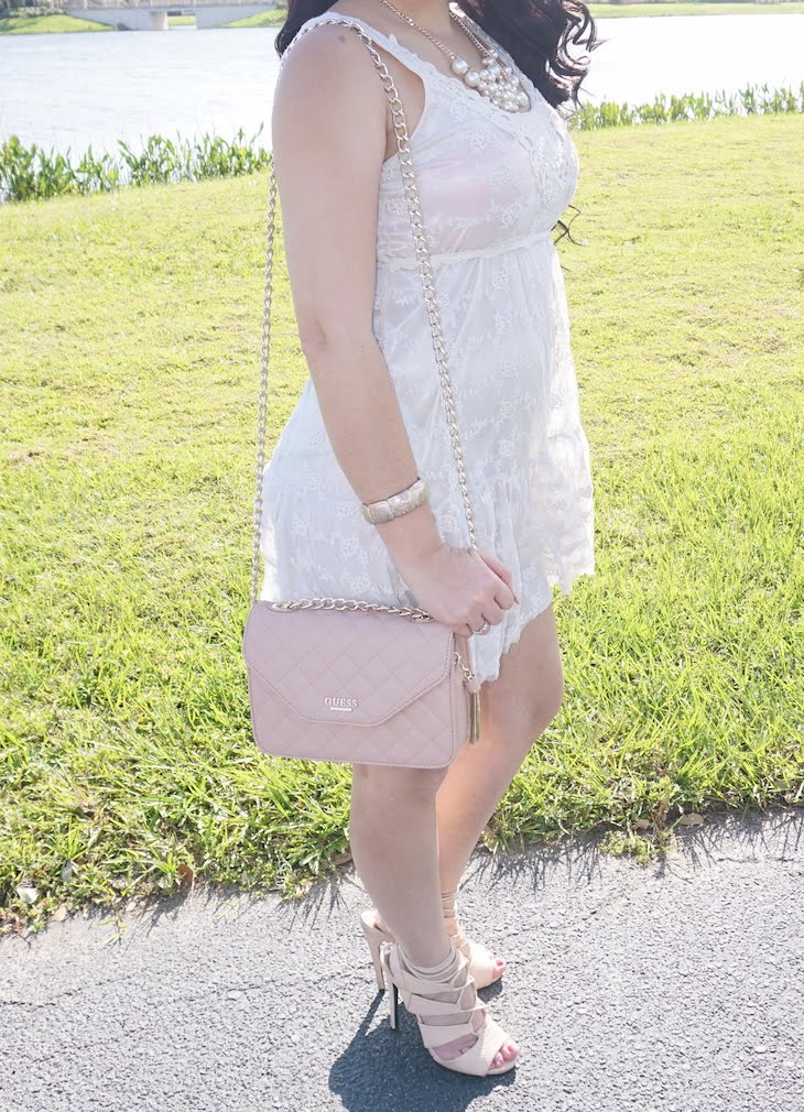 Sunday-Glam-OOTD-Crochet-Lace-Cream-Dress-Vivi-Brizuela-PinkOrchidMakeup