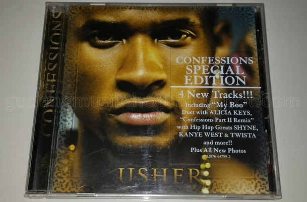 CD Usher - Confessions Special Edition - GUDANG MUSIK SHOP