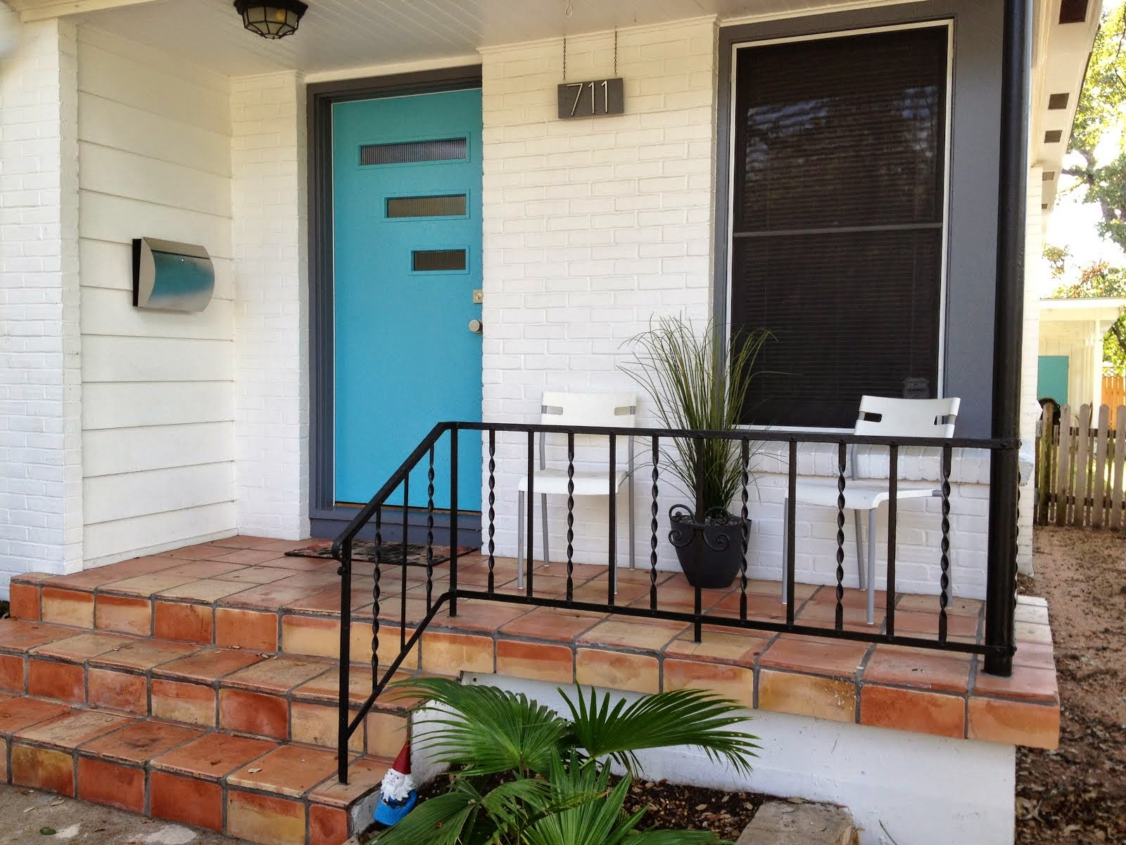 Mad for Mid-Century: Done: New Front Porch Light