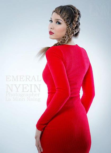 Myanmar Sexy New Face Model- Emerald Nyein - Sexy Girls-2122